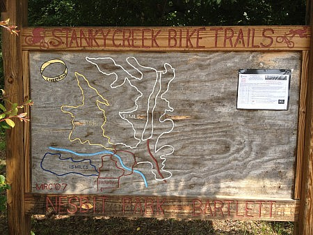 Stanky Creek sign