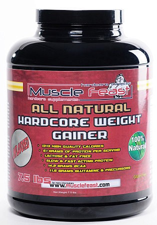 Hardcore Weight Gainer All Natural Unflavored